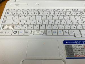 東芝ノートパソコンB351/23E 型式:PB35123ESTW