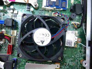 パソコンの内部クリーニング