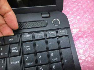 内蔵キーボード交換