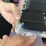 アップルノートパソコンMac Book Proバッテリー交換