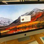 Apple一体型パソコンiMac A1312 HDD交換