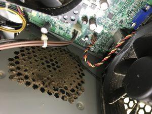 パソコンのクリーニング