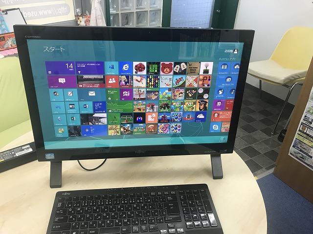 富士通一体型パソコンFMVF56KDBZ