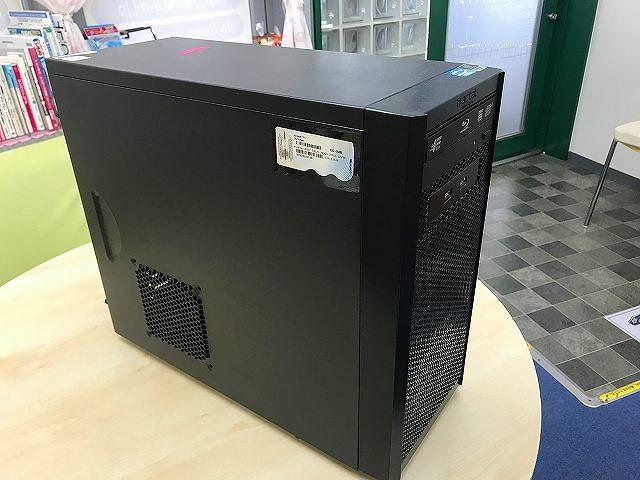 自作デスクトップパソコン OSは、Windows7