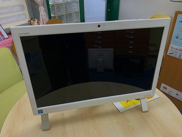 富士通一体型パソコン ESPROMO FH52/M