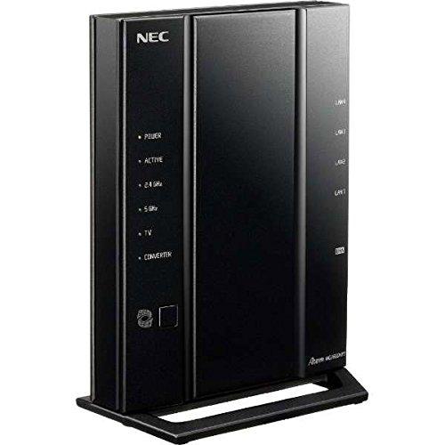 ルーターは、NEC AtermWG2600HP3 無線LANルータ 型式:PA-WG2600HP3