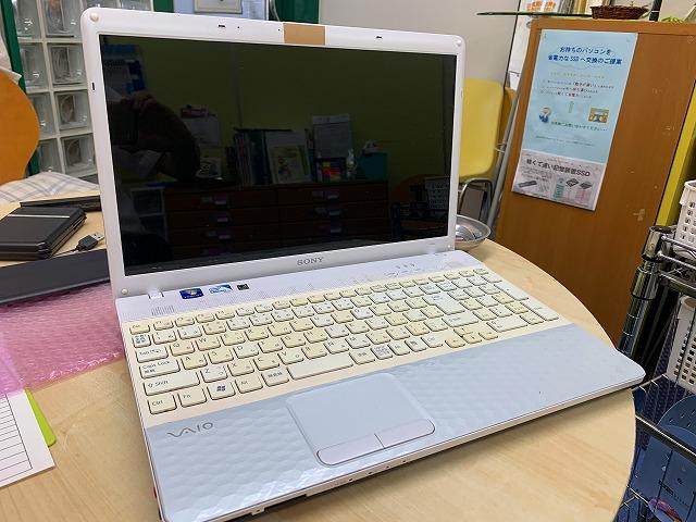 ソニーノートパソコン PCG-71B11N