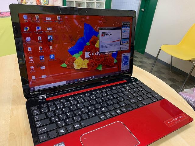 液晶パネル交換後のパソコン