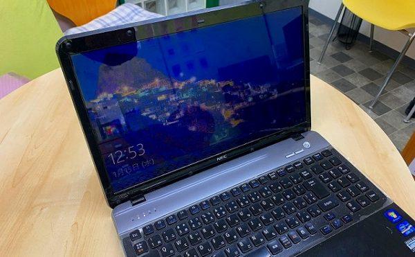 NECノートパソコンLaVie LS550/E