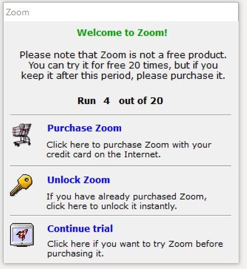 購入をすすめてくる悪質なソフトウェア