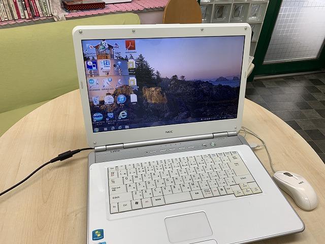 NECノートパソコンLL150/W