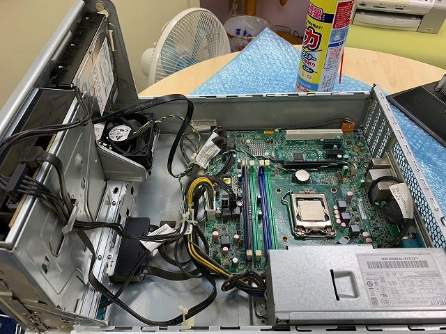 パソコンクリーニング